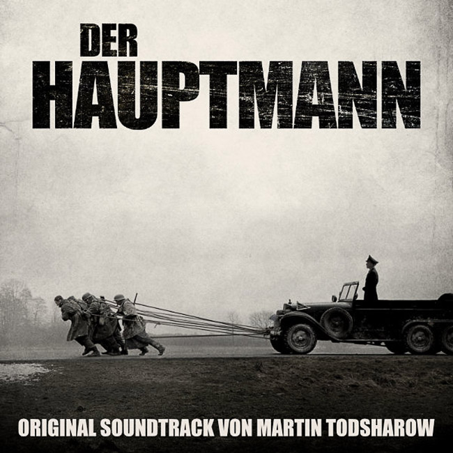 "Cover des Original Soundtracks zu dem Film ""Der Hauptmann"""